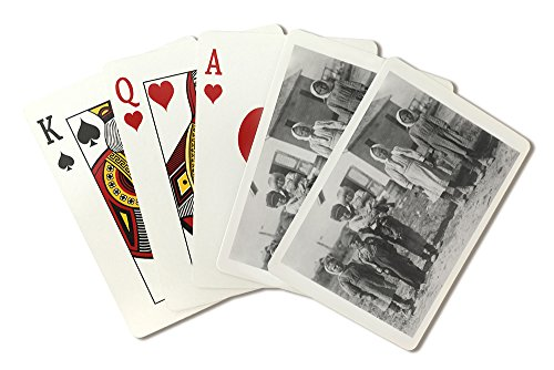 Young Beet Farm Workers in Sterling, CO Photograph (Playing Card Deck - 52 Card Poker Size with Jokers)