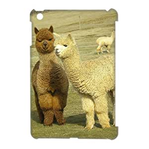 TOSOUL Lama Pacos Pattern 3D Case for iPad Mini