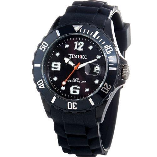 Reloj maquinaria japonesa de cuarzo Time Para Con Analogico Y Color: gris Plástico W400: Amazon.es: Relojes