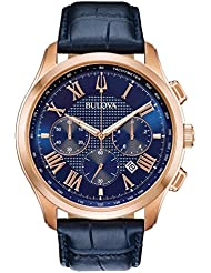 Bulova  Mens Wilton - 97B170 Blue One Size