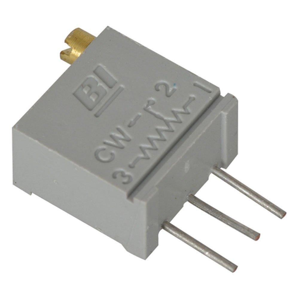 Arndt 3299W-1-102-VP//68WR Cermet Potentiometer 1K Ohm Pack of 4 0.5 Watt 1//2W 25-Turn