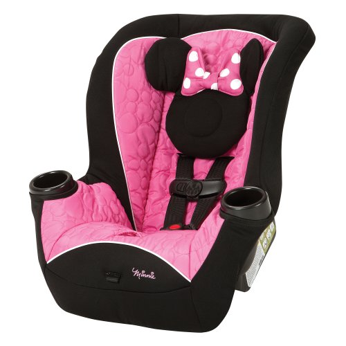 Disney Baby Minnie Mouse APT 40 Convertible Car Seat Mouseketeer