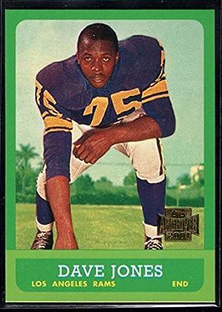 7268153fe93 Amazon.com: Football NFL 2001 Topps Archive #21 Deacon Jones LA Rams ...