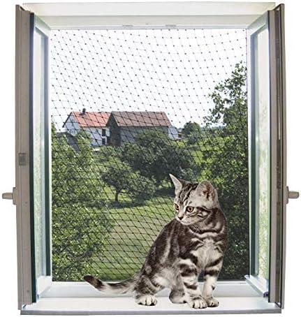 Red de protección para gatos 6 x 3 m, transparente: Amazon.es ...