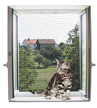Kerbl Red de protección para gatos 4 x 3 m, transparente: Amazon.es: Productos para mascotas