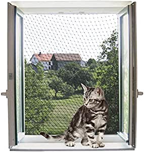 Red de protección para gatos 6 x 3 m, transparente: Amazon.es: Productos para mascotas