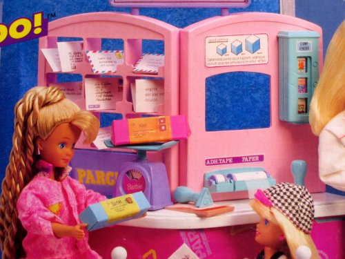 Barbie So Much To Do Post Office Playset 1995 Arcotoys