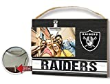 KH Sports Fan Clip It Colored Logo Photo Frame Oakland Raiders