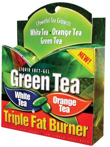 Applied Nutrition Maximum Strength Green Tea Triple Fat Burner, Liquid Soft-Gels - 30 Ea