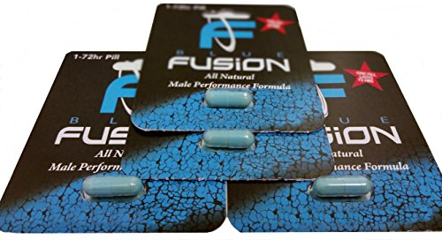 Bluefusion all Natural Male Performance Enhancement Supplement Energy, Stamina and Endurance. (4 Pills) by Naturel (Performance Pill Male Enhancement)
