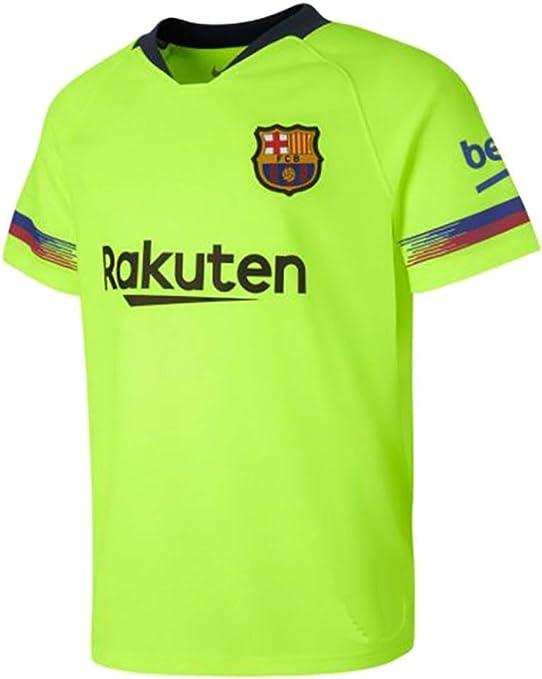 Camiseta Adulto - Personalizable - Segunda Equipación Replica Original FC Barcelona 2018/2019: Amazon.es: Deportes y aire libre