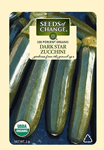 (Seeds of Change Certified Organic Dark Star Summer Squash Zucchini)