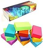 Debra Dale Designs - 800 Small Blank Study Flash Cards - 10 Bright Colors - Standard Plus 80# Cover Card Stock