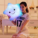 Vktech® Dream Colorful Glow LED Luminous Light Pillow Cushion Cosy Soft Relax Gift (Star II)