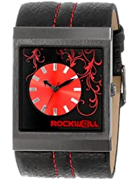 Unisex MC118 Mercedes Black Leather and Red Watch