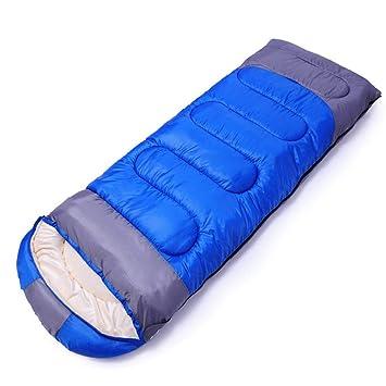 WLIXZ Saco de Dormir, para Clima cálido y frío, Saco de Dormir Ligero y