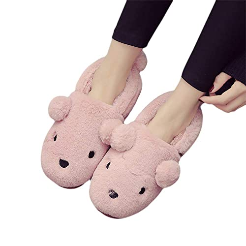 d22209440518 NERBEY Women s Comfort Slip On Memory Foam Slippers French Terry Lining  House Slippers w Anti Slip Sole Dark Pink 7.5-8.5 B(M) US  Amazon.ca  Shoes    ...