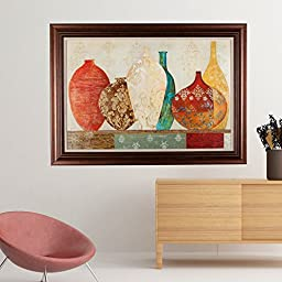 Masterpieces Collection of Memory Premium Hand Embellished Canvas With Double Frame, Oil Painting, Wall Art, 42\