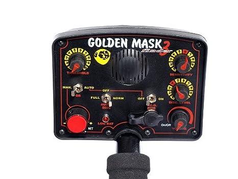 Detector de metales GoldenMask GM3 8kHz goliton bobina discriminatorio: Amazon.es: Bricolaje y herramientas