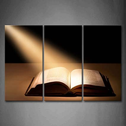 Amazon.com: The Holy Bible Wall Art Painting The Picture Print On ...