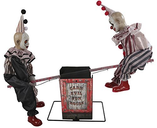 Morris Costumes Animated See-Saw Clowns with Sound - Standard from Morris Costumes