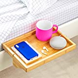 loft bedroom ideas BedShelfie The Original Bedside Shelf - 9 Colors / 2 Sizes - AS SEEN ON Business Insider (Regular Size, Natural)