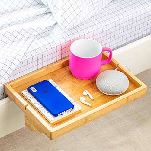 BedShelfie The Original Bedside Shelf - 9 Colors / 4 Sizes - AS SEEN ON Business Insider (Original Size, Natural) ()