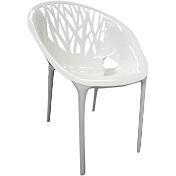 Set de 4 sillas eames metal hogar oficina atiderrapante - Silla eames amazon ...