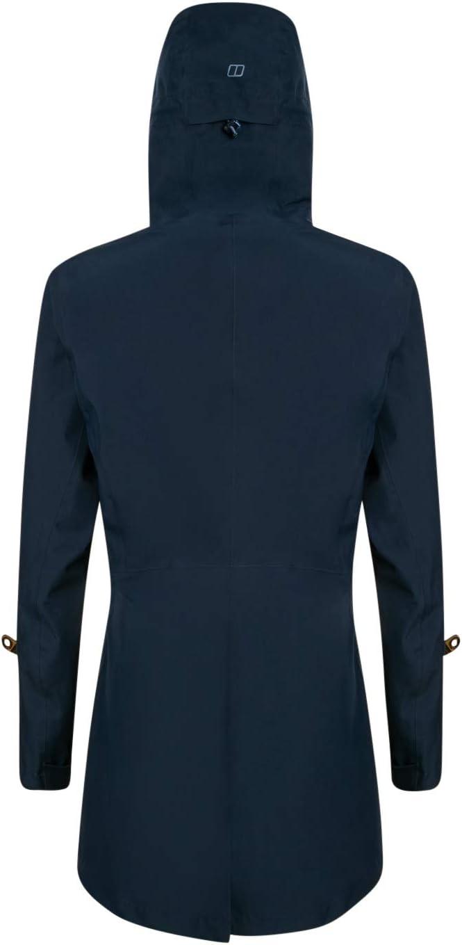 Berghaus Womens Limosa Long Waterproof Shell Jacket