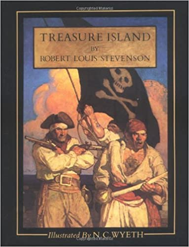 Treasure Island Amazon Robert Louis Stevenson Nc Wyeth