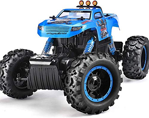 Remote Control Trucks Monster RC Car 1: 12 Scale Off Road Vehicle 2.4Ghz Radio Remote Control Car 4WD High Speed Racing All Terrain Climbing Car Gift for Boys (Number Monsters)