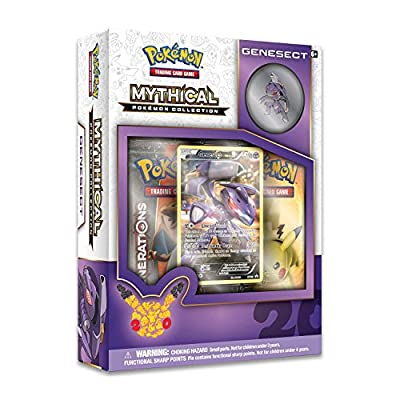 Pokemon TCG: Genesect Mythical Pin Collection: Toys & Games