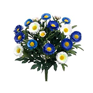 """12"""" Aster Daisy Bush x7(Pack of 12) 37"""
