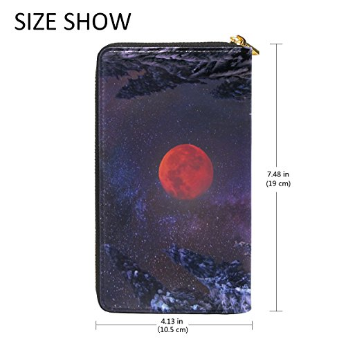Organizer TIZORAX Clutch And Hut Handbags Wallet Zip Purses Mountains Womens Winter Around Hunting Fxwrn0aqF