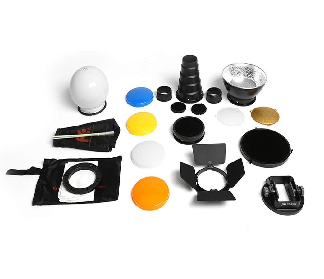 FALCON EYES Softbox Flash Diffuser Adapter Kit Accessory for K9/K-9 Universal Mount CA-SGU Speedlite for Canon Nikon