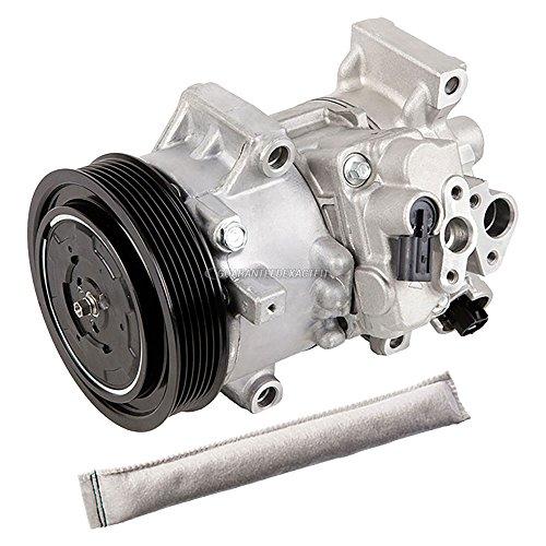 (AC Compressor w/A/C Drier For Toyota Corolla & Matrix 2011 2012 2013 - BuyAutoParts 60-89002R2 New)