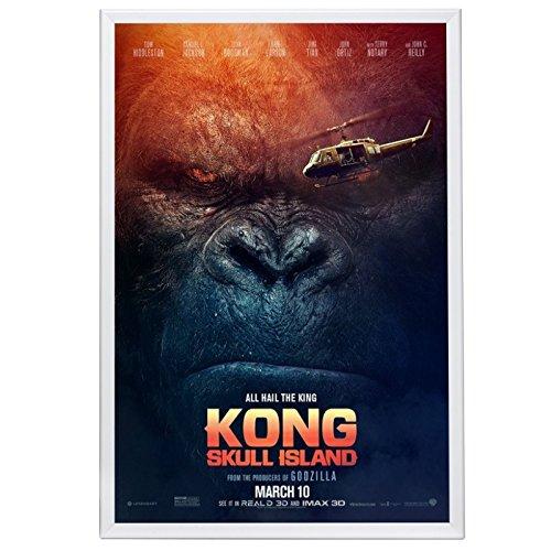 SnapeZo Movie Poster Frame 27x40 Inches, White 1.25
