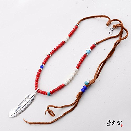 Ethnic Indian Takahashi Goro's Silver Beads Couple Necklace by MiNE