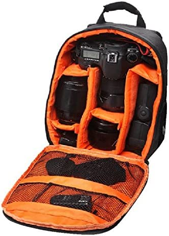 GR Trend Waterproof DSLR Backpack Camera Bag, Lens Accessories Carry Case for Nikon, Canon, Olympus, Pentax & Others-Made in India