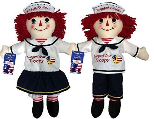 12' Rag Doll - Limited Edition Raggedy Ann & Raggedy Andy