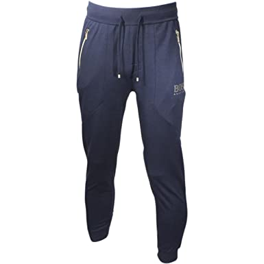premium selection designer fashion how to get Amazon.com: Hugo Boss Men's Stretch Jersey Tracksuit Pants ...