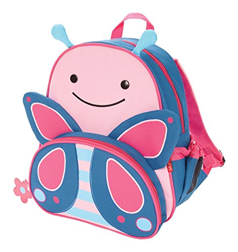 Skip Hop Zoo Little Kid and Toddler Backpack, Ages 2+, Multi Blossom...
