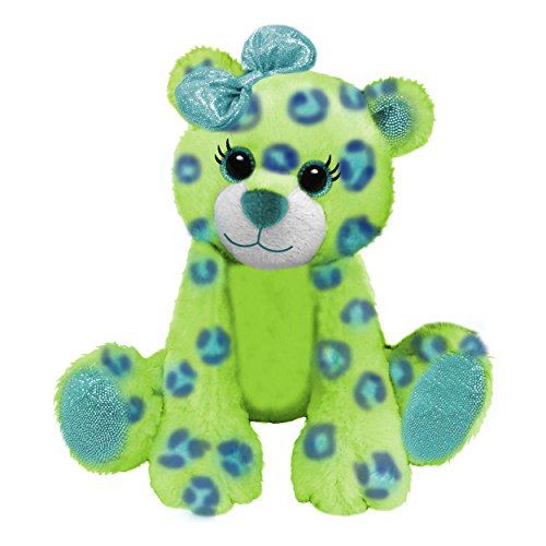 1 Piece 7 Inch Light Green Blue Gal Pals Lily Leopard Animal
