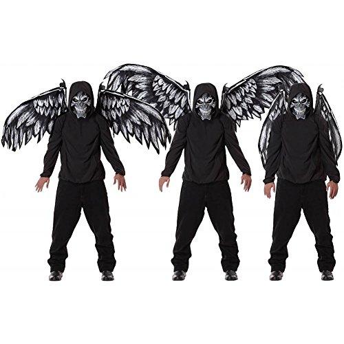 [Fallen Angel Mask and Wings Costume] (Fallen Angel Costume)