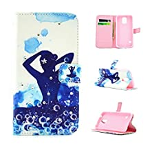 KMETY Yoga PU Leather Wallet Type Magnet Design Flip Case Cover Credit Card Holder Pouch Case for Samsung Galaxy Note 5