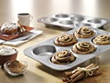 USA Pan Bakeware Mini Round Cake and Cinnamon