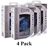 4 Pack Eclipse USB 2.0 2.8V 4GB Digital Touchscreen MP3 Media Player w/