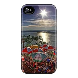 Iphone 4/4s Cover Case - Eco-friendly Packaging(just Great) by runtopwell