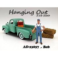 """Saliendo"" Figura de Bob para modelos a escala 1:18 por American Diorama 23857"