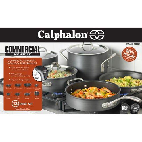 Calphalon 13-pc Hard Anodized Cookware Set